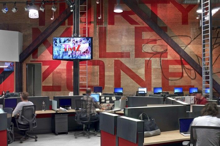 Office Tour Tmz S Los Angeles Newsroom And Offices Ofis