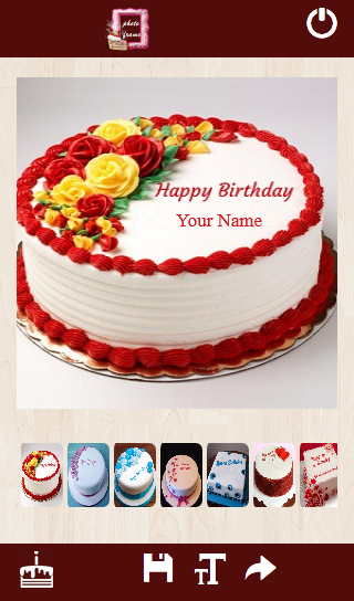Cool Cake With Name And Photo Apk Download Free Entertainment App For Personalised Birthday Cards Bromeletsinfo