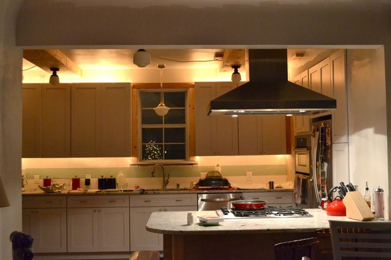 Cabinet Accent Lighting Living Room For