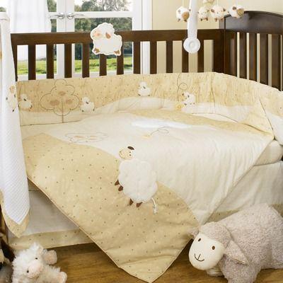 LivingTextilesBaby Counting Sheep Crib Bedding Collection