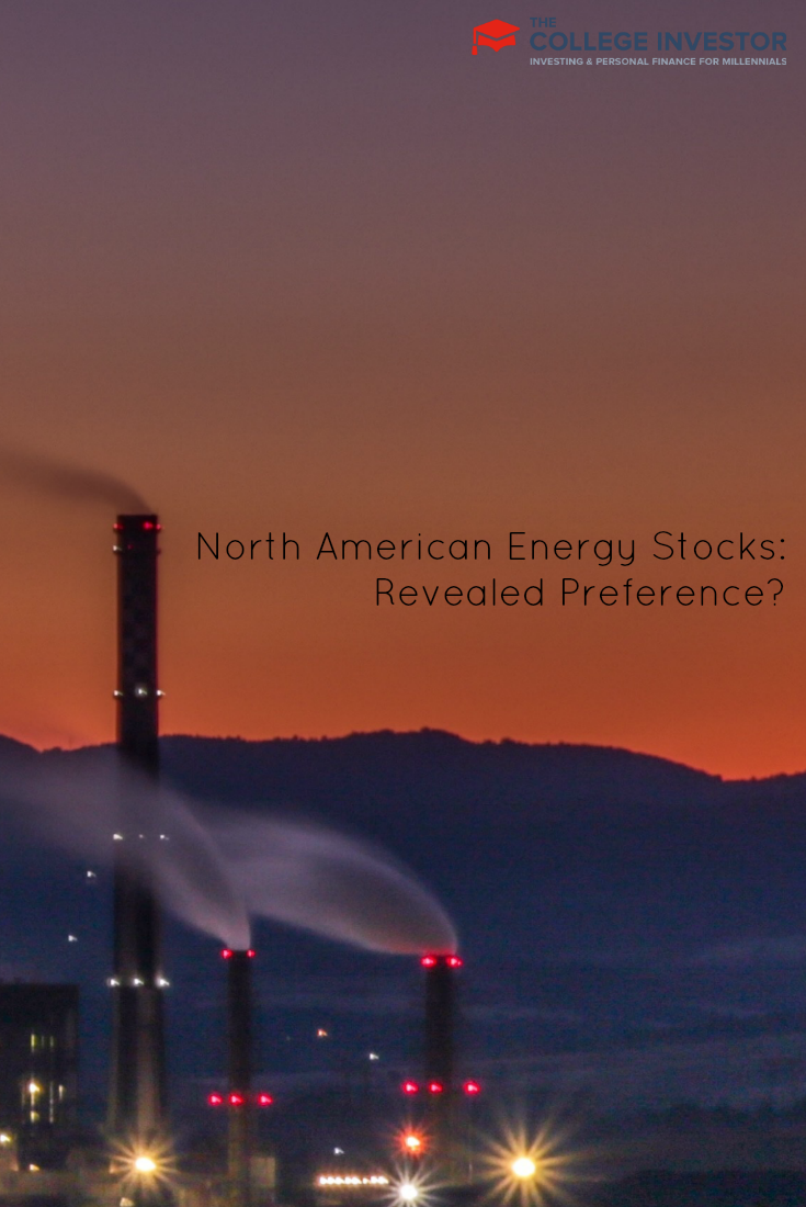 North American energy stocks are showing a revealed preference among investors looking to invest in energy, but seek safety. via @collegeinvestor