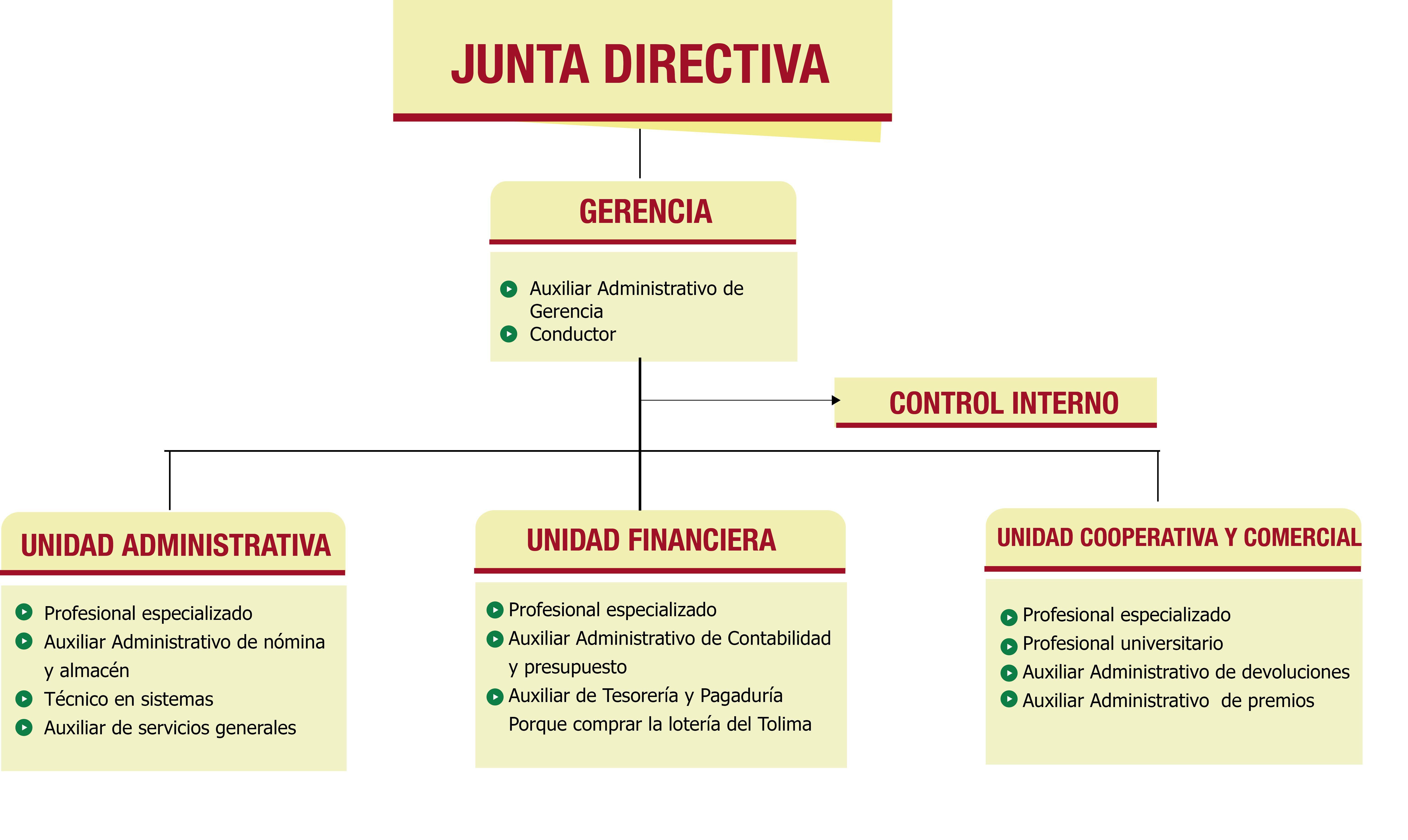Estructura Organizacional Estructura Organizacional