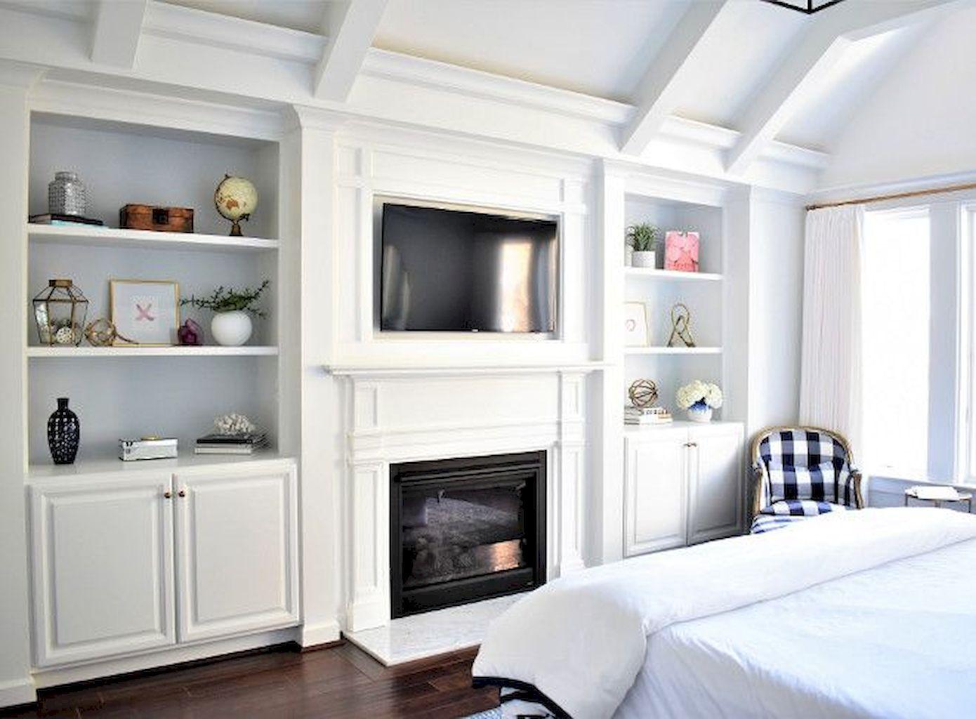 55 Small Master Bedroom Design Ideas | Bedroom built ins ...