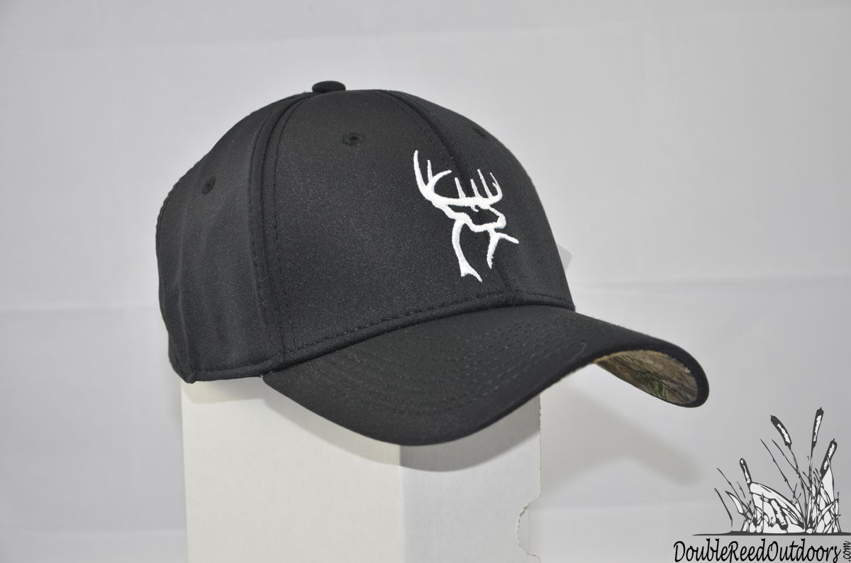Double Reed Outdoors - Buck Commander Black A-flex Fitted Hat a850da7ca99e
