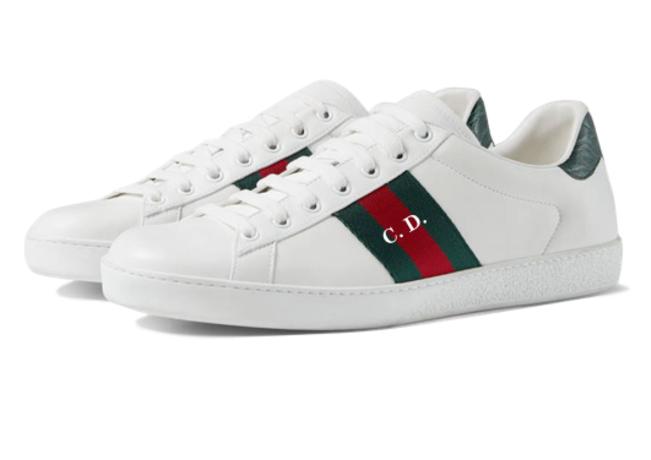 63664cd3e4 Las zapatillas más 'low cost' de Gucci podrán ahora personalizarse con  iniciales (para