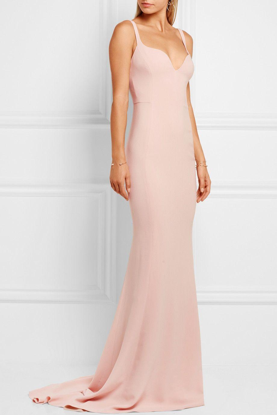 Stella McCartney | Stretch-crepe gown | NET-A-PORTER.COM | Natalie ...