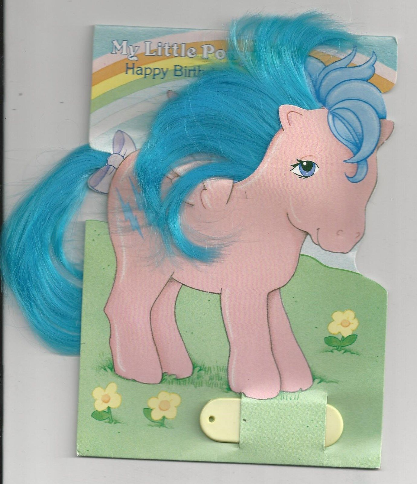 Details About Rare 1985 My Little Pony Firefly Birthday