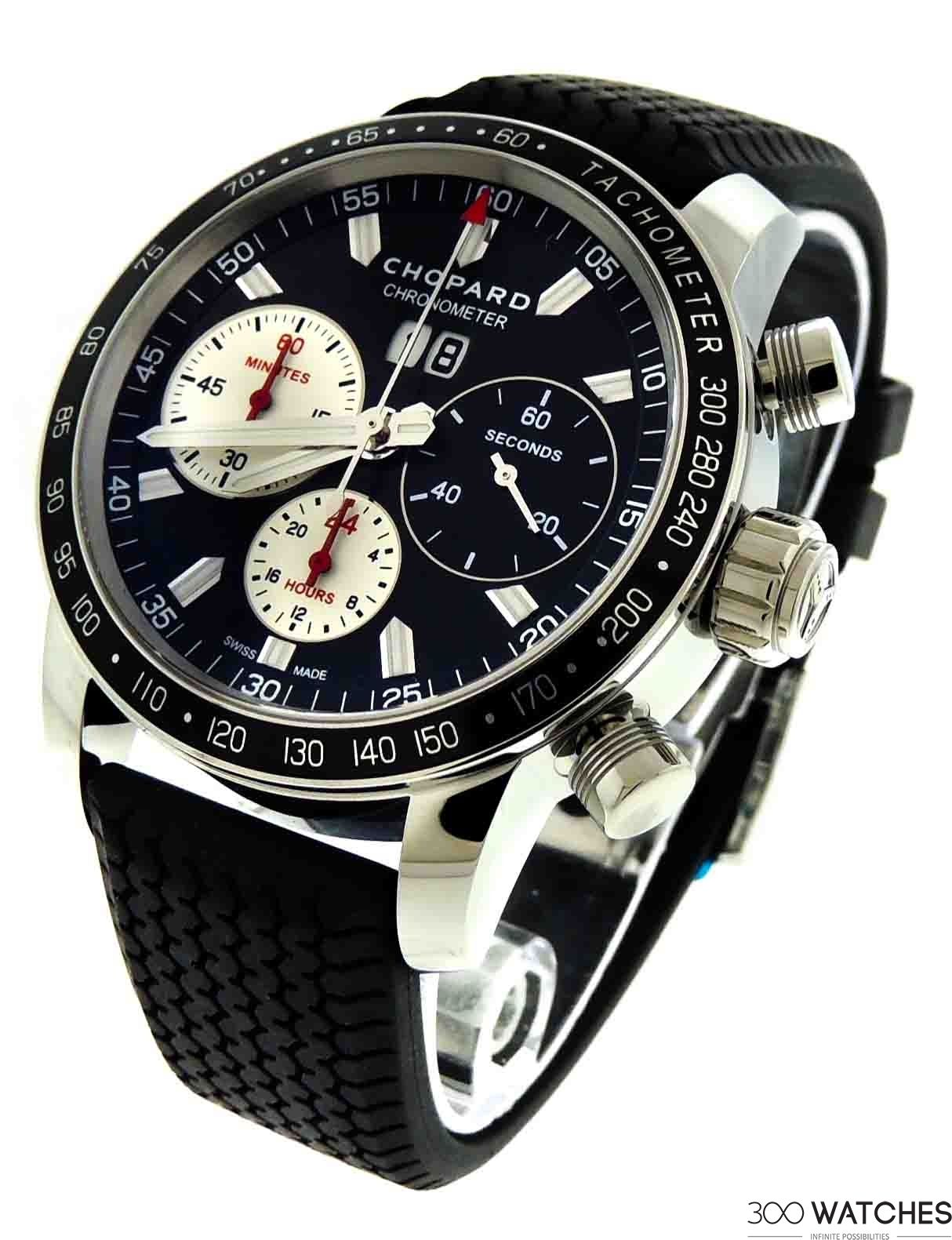 Chopard Mille Miglia Jacky Ickx Edition V Stainless Steel Automatic    luxury watch brands   300watches ac9ca31579d8