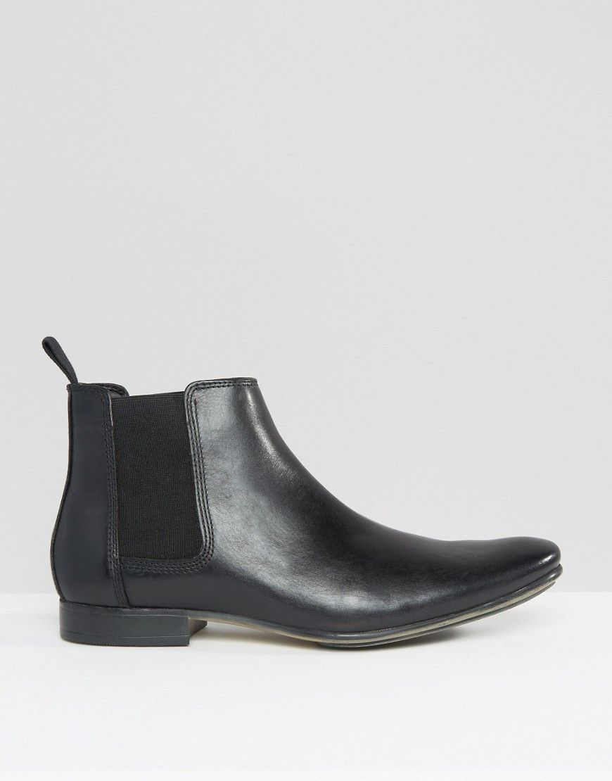 4a4e34260c8 Frank Wright Leather Chelsea Boots | Products | Leather chelsea ...