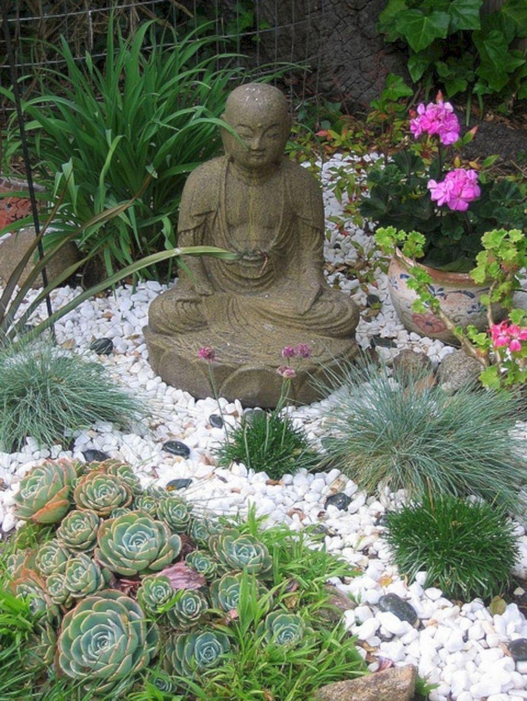 76 Beautiful Zen Garden Ideas For Backyard 740   Buddha ...