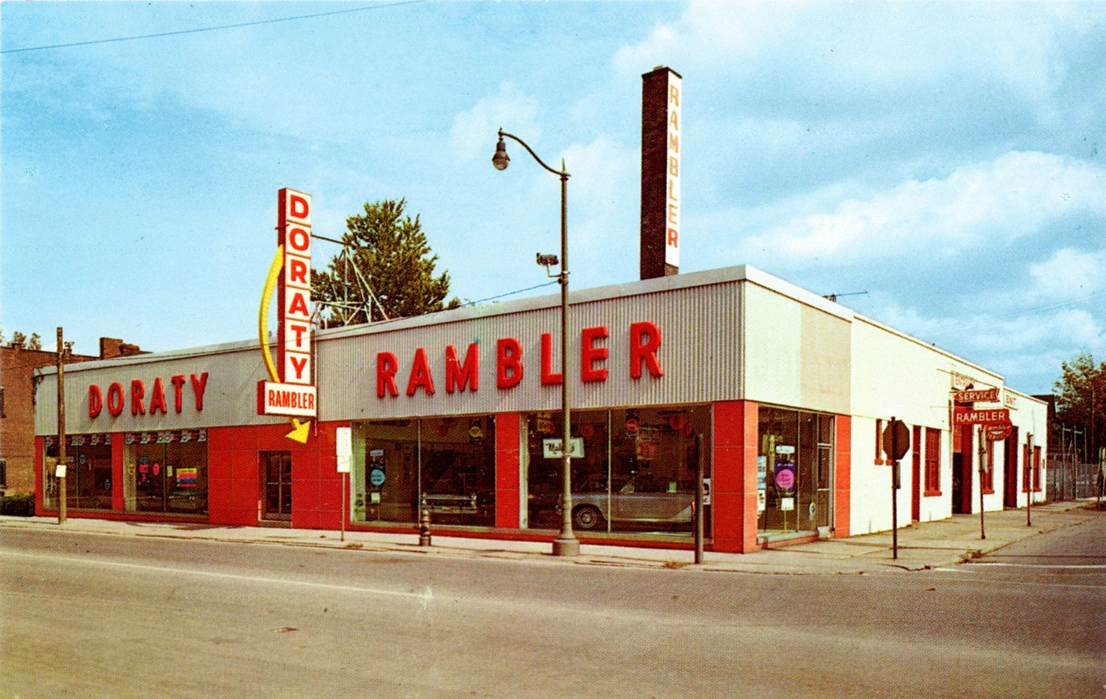 Doraty Rambler, Inc. Cleveland OH, 1966 Cleveland