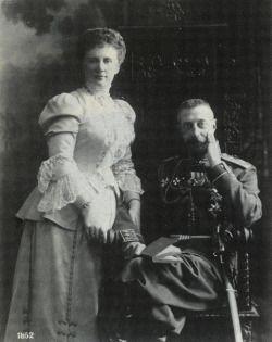 Grand Duke Konstantin and his wife Elizaveta.
