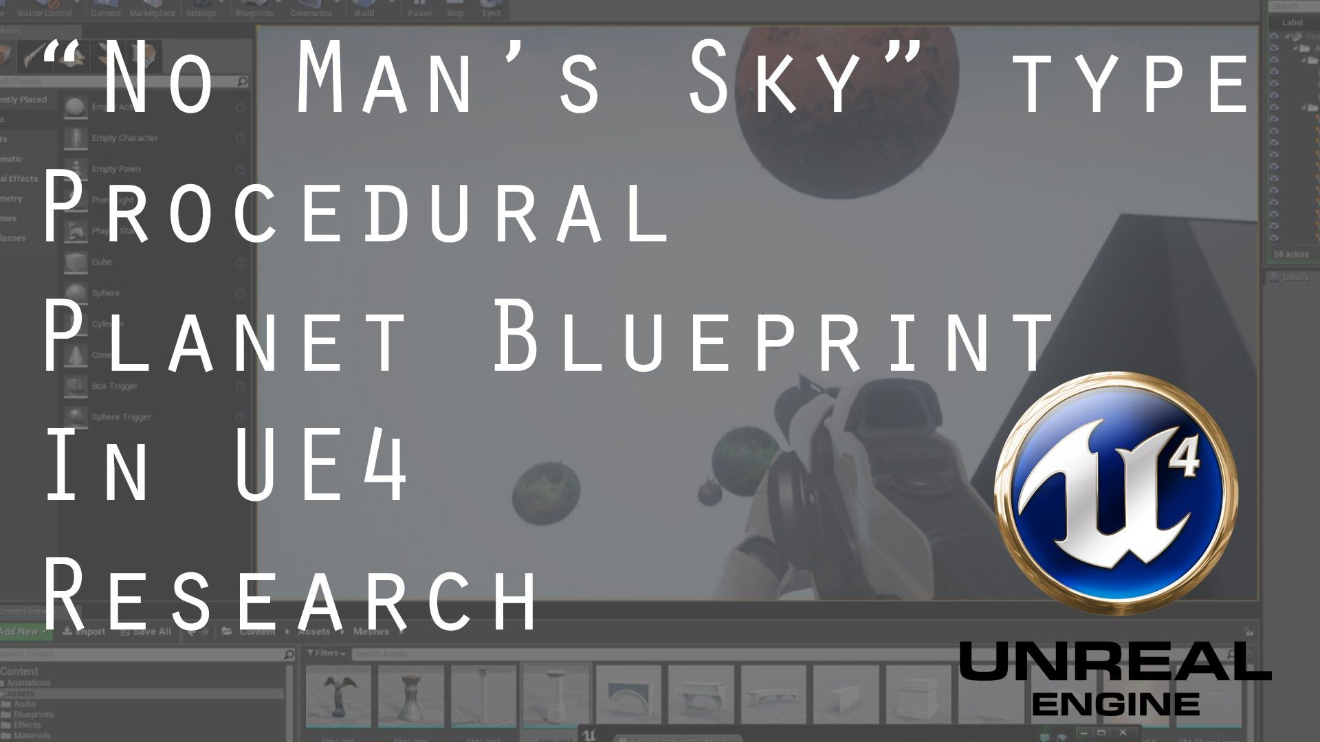 No mans sky easy procedural planet unreal engine 4ue4 30min no mans sky easy procedural planet unreal engine 4ue4 30min malvernweather Images