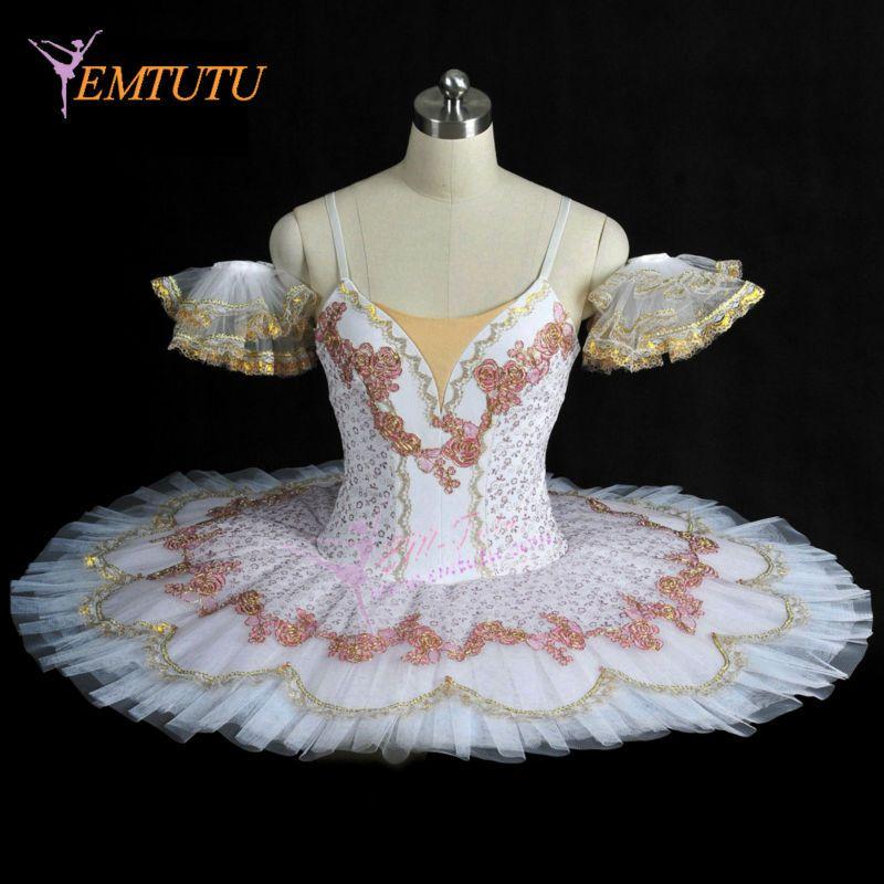 US $200.0  Nutcracker Sugar Plum Fairy Tutu Professional Ballet Tutu Pancake Platter Stage Performance tutus Ballet Stage Costumes Women Ballet Novelty & Special Use - AliExpress