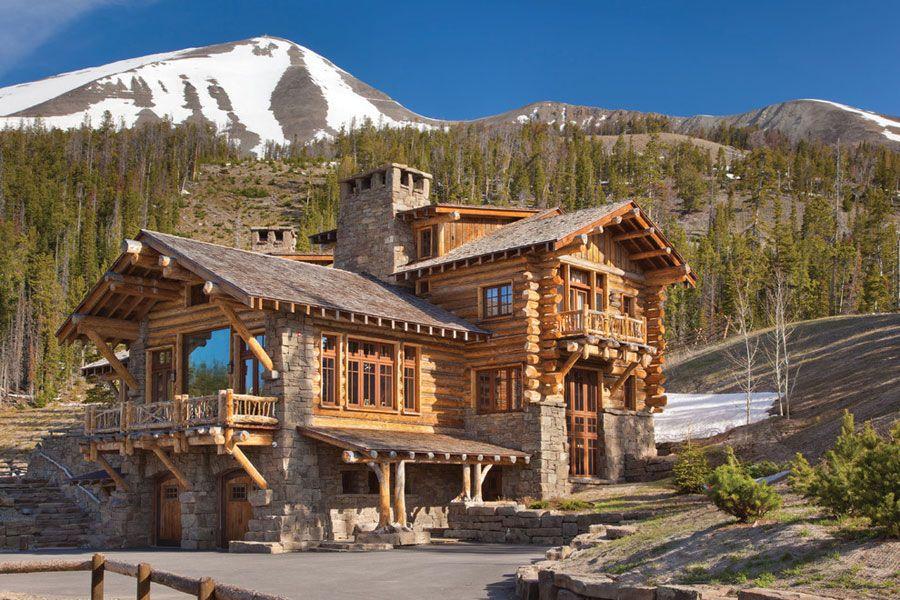 Case di montagna esterni esterno casa di montagna casa for Case bellissime esterni