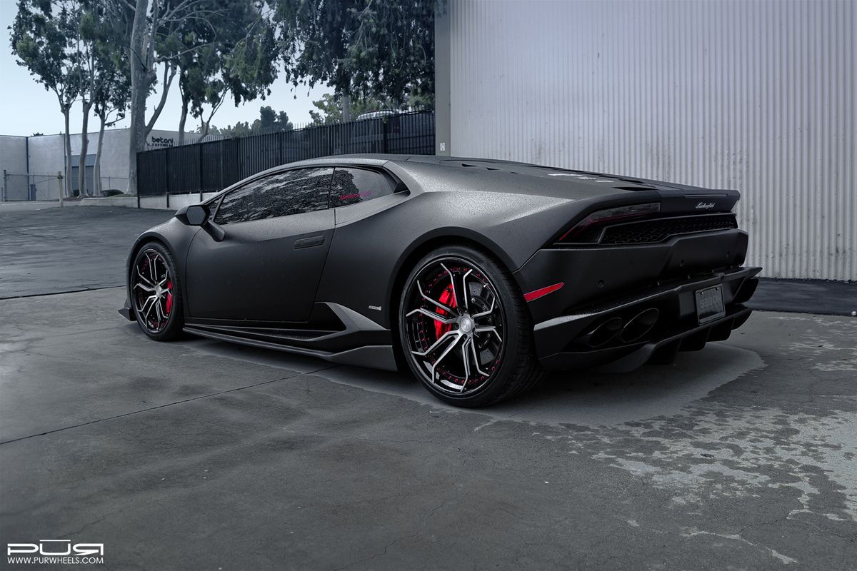 lamborghini huracan with pur lx10v3 forged wheels cars supercars