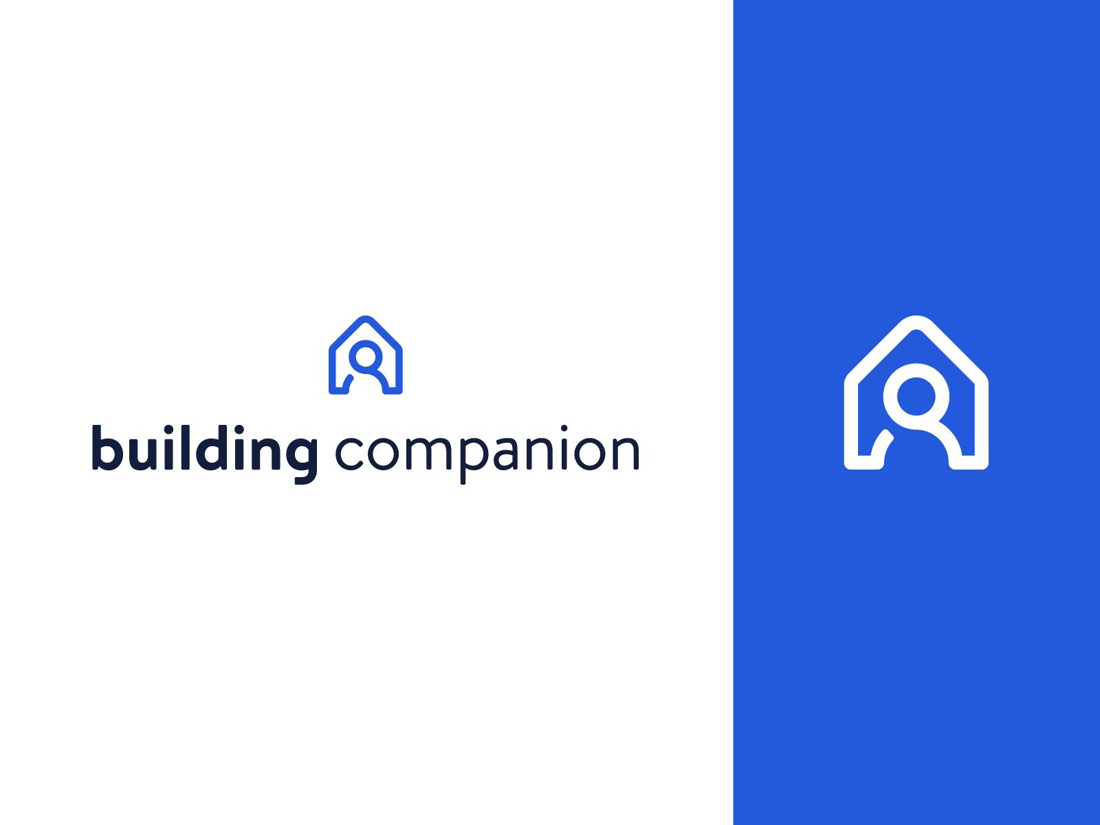 Building Companion People Logo Construction Branding Logo Design