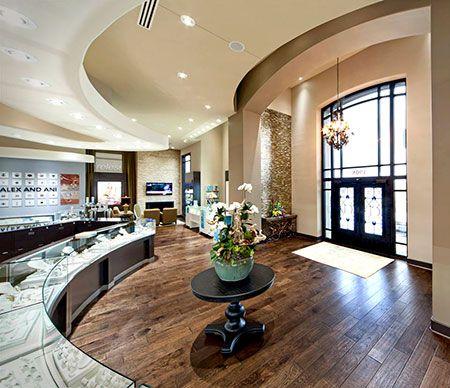 Crocker   fine jeweler by leslie mcgwire amp associates interior design company awards also jewelry stores rh pinterest
