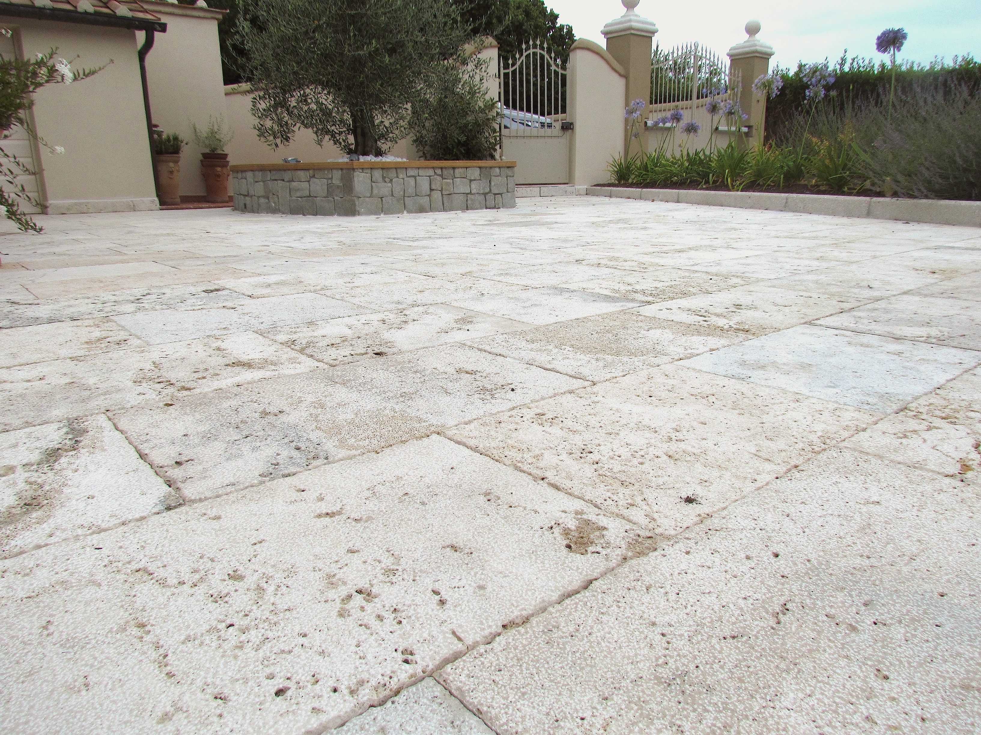natural stone outdoor floor tiles by