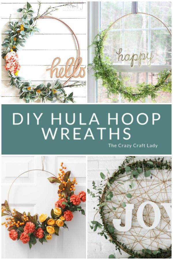 Photo of 8 Inspiring Hula Hoop Wreath Ideas to Make for any Season – The Crazy Craft Lady