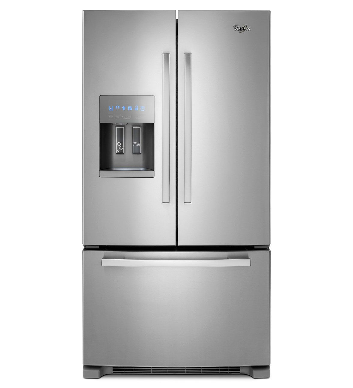 Whirlpool Gold Energy Star Qualified 26 Cu Ft French Door Bottom