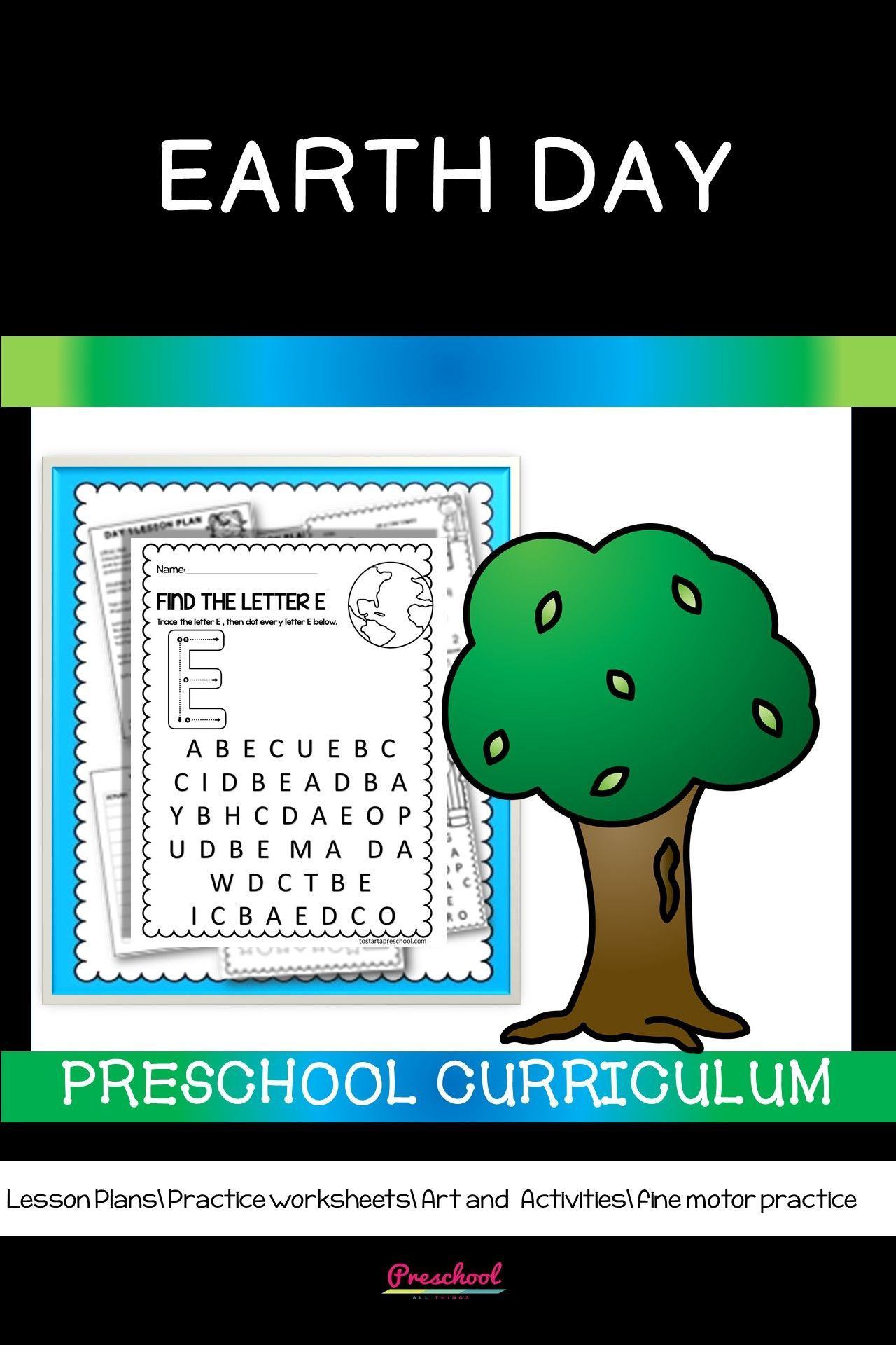 Earth Day Preschool Curriculum In