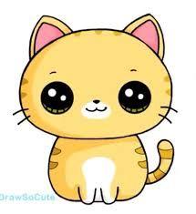 Resultado De Imagen Para Como Dibujar Gatos Kawaii Dibujos Kawaii Dibujos Kawaii De Animales Kawaii