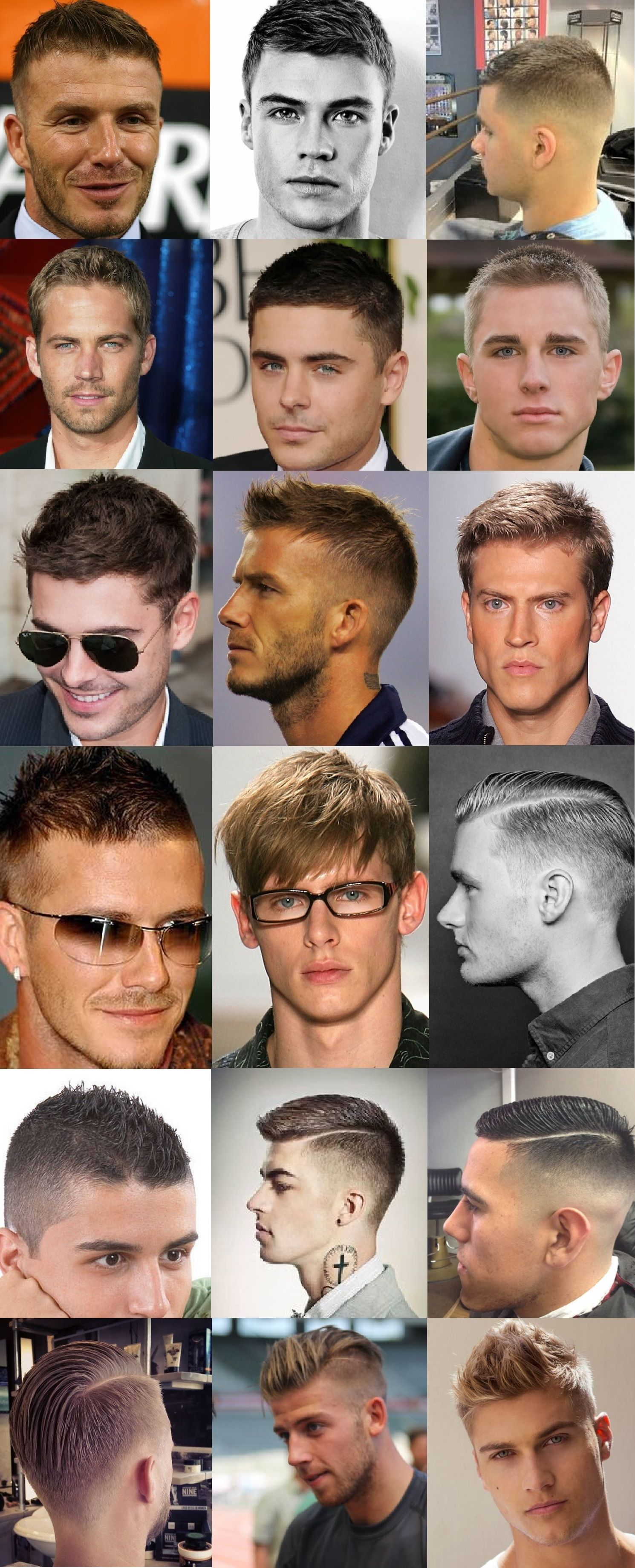 Men Hairstyle Haircut No Sideburnswhiskers Tapered Side Top