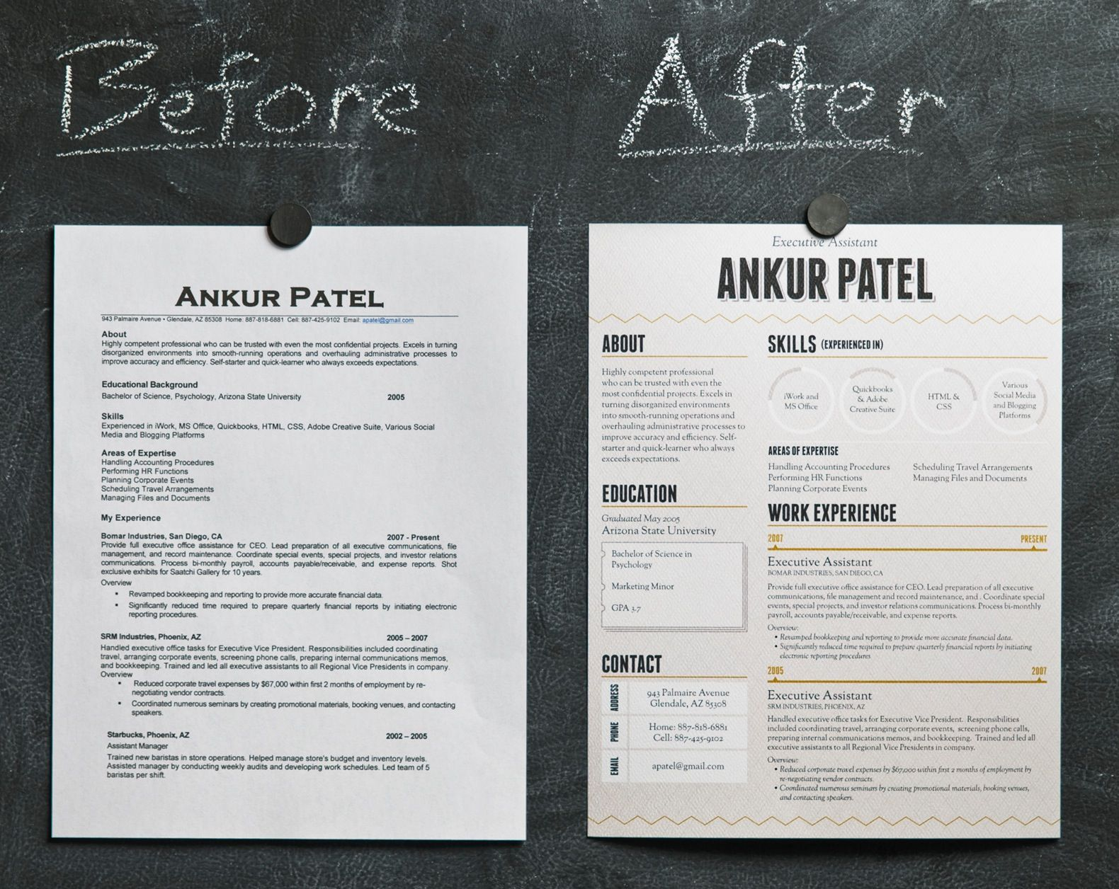 Can Beautiful Design Make Your Resume Stand Out?  Awesome Resume Examples