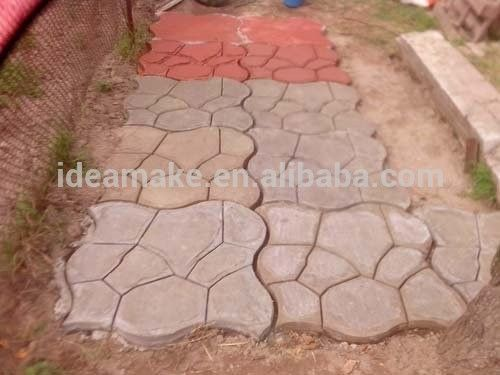 DIY Molde para pavimento caminos Camino Paso A Paso molde molde pavimento de hormigón de plástico