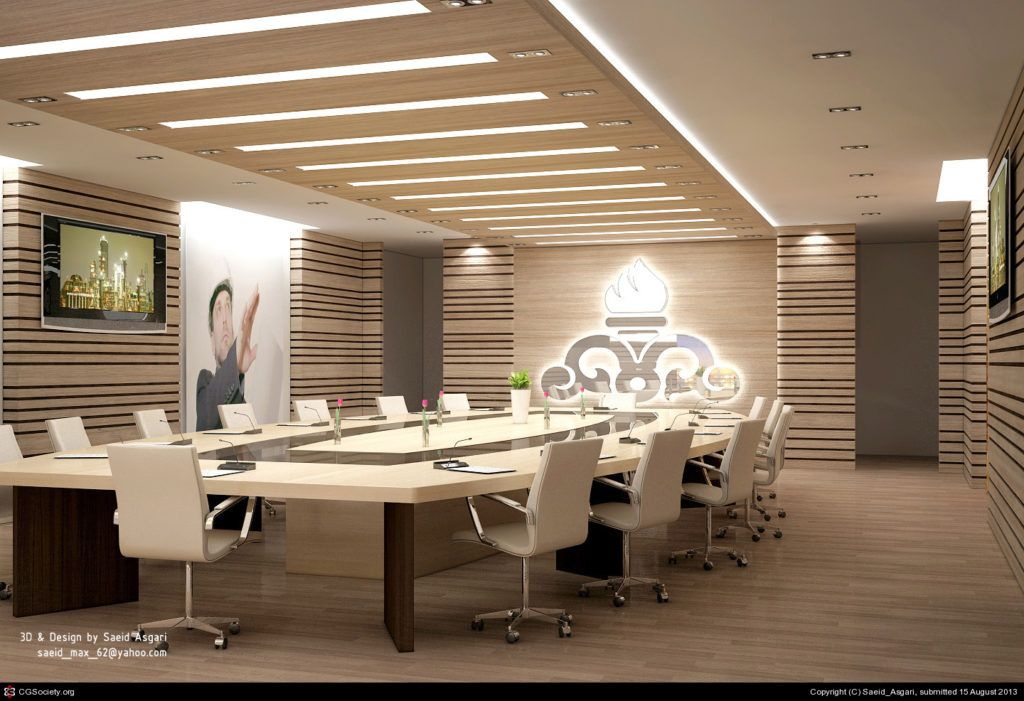 Captivating Conference Room Design Interior Design Of Gas Pany