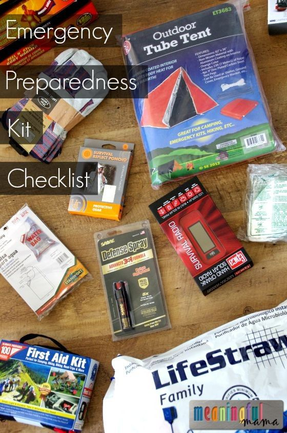 Creating An Emergency Preparedness Kit  Emergency Preparedness