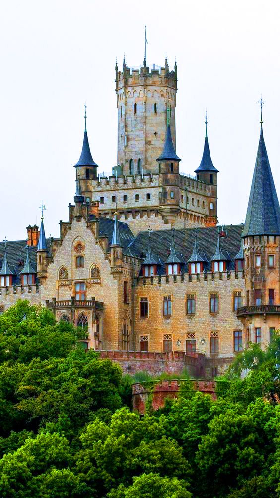 Marienburg Castle Is A Gothic Revival In Hanover Lower Saxony Germany
