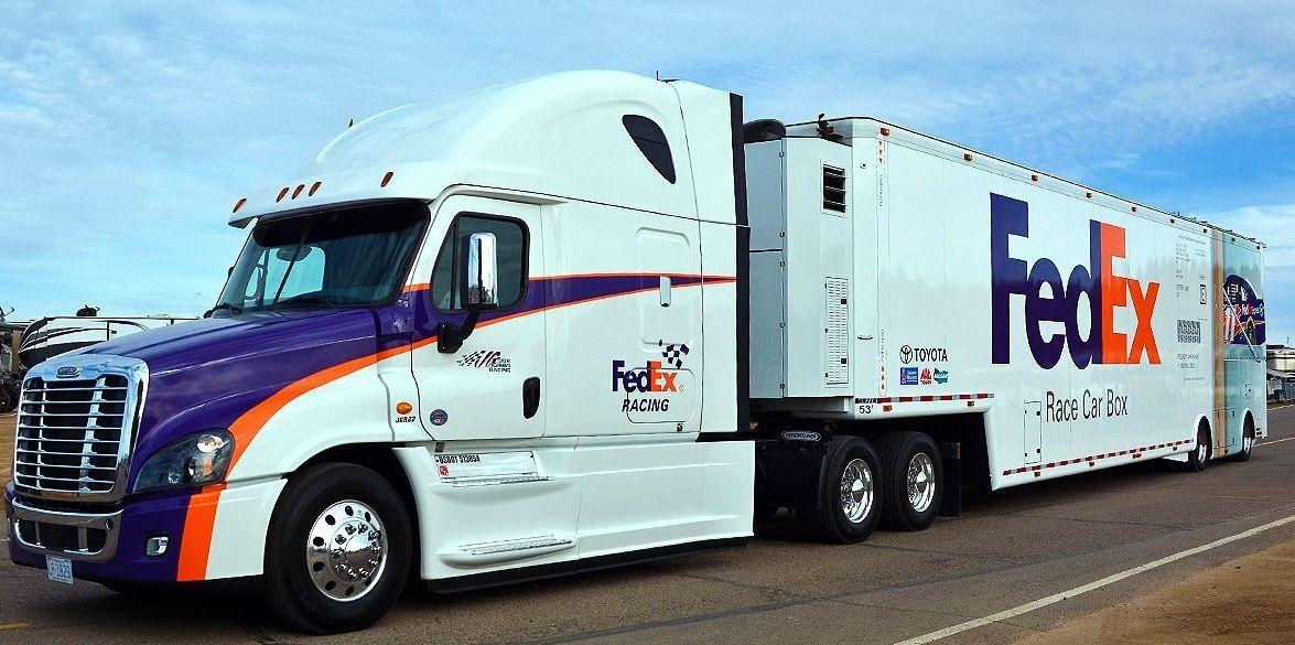 Fedex Hauler Transporter Nascar Freightliner Nascar Cars Trucks Freightliner