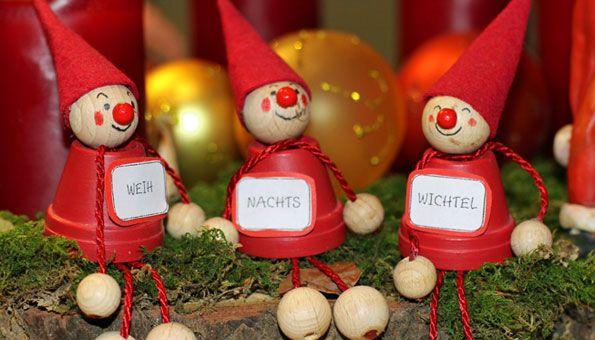 Weihnachtsdeko Selber Basteln, Weihnachtsdeko Basteln