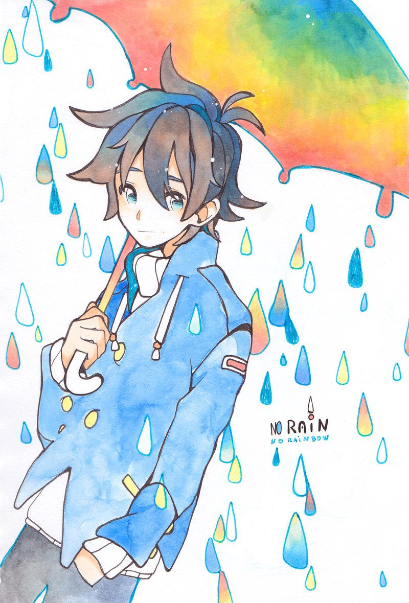 No rain no rainbow by KameRim No rain