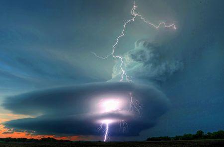 Twilight Strike Photo by Chris Allington -- National Geographic Your Shot
