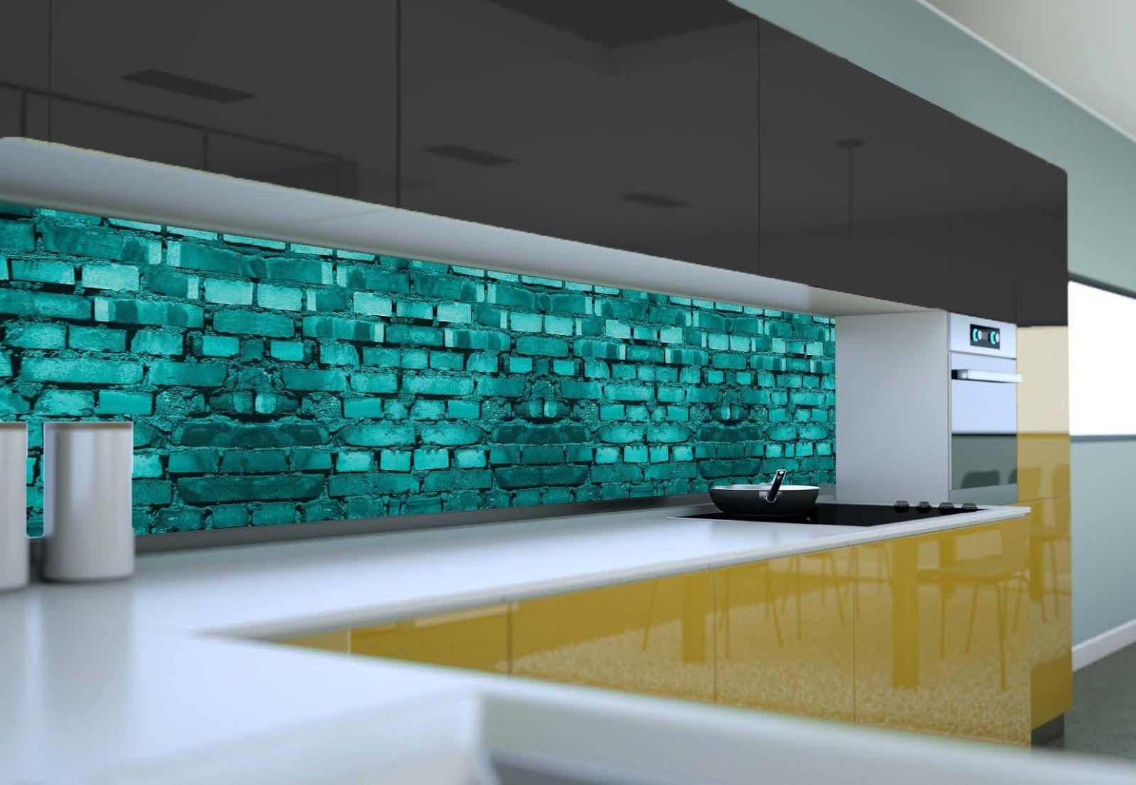 - 3D Kitchen Back Splash Design Ideas With Glass Panels 3D Glass