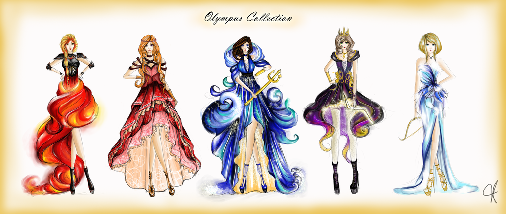 Fashion Inspired By Olympians From Greek Roman Mythology