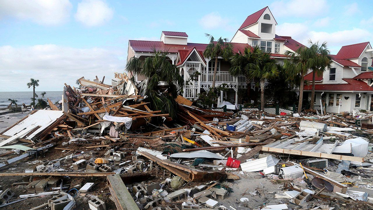 Sheer Devastation In The Wake Of Hurricane Michael Videos From The Weather Channel Weather Com Mexico Beach Florida Hurricane Bad Storms