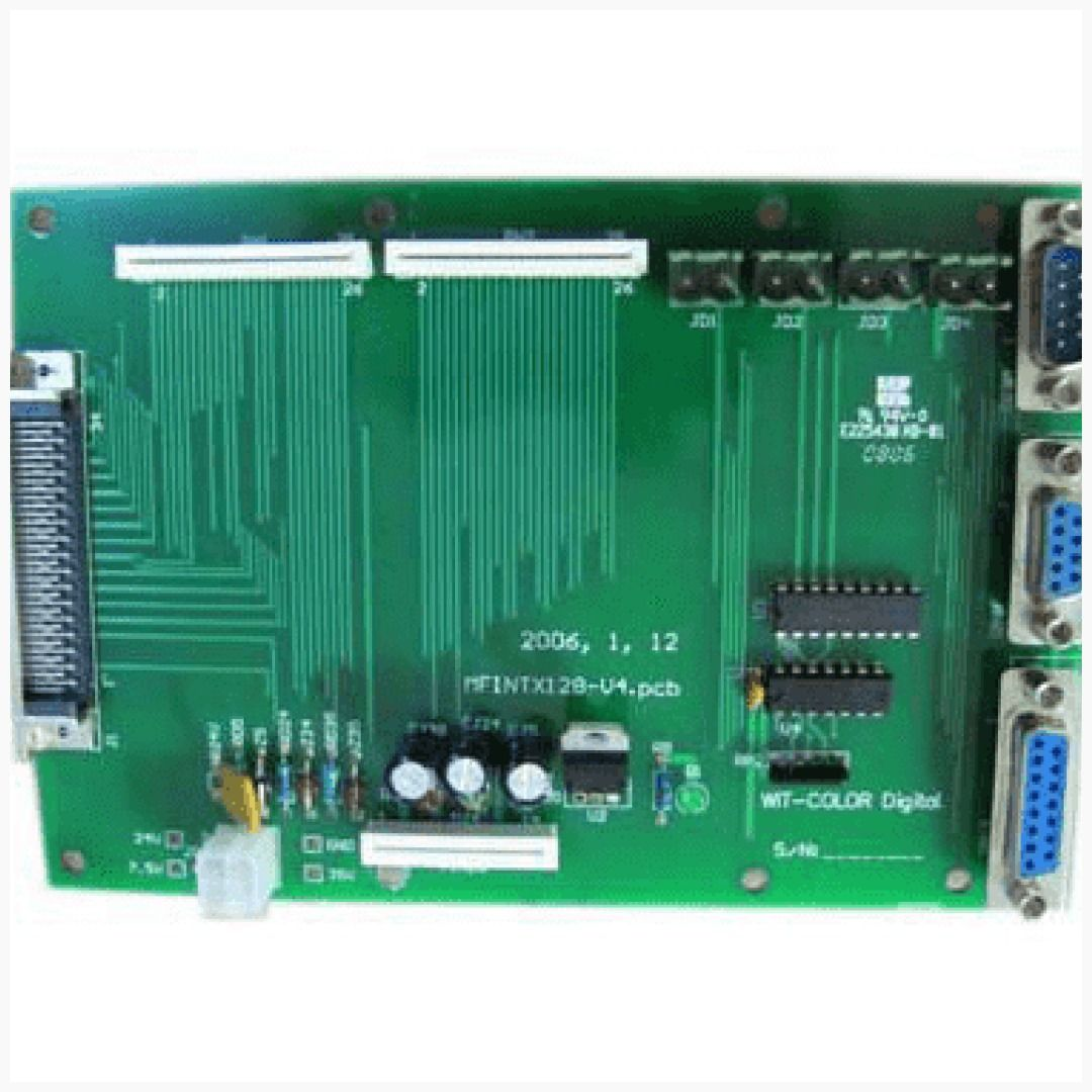 Terminal Board For Wit Color Ultra 1000 Printer Printer Wide Format Color