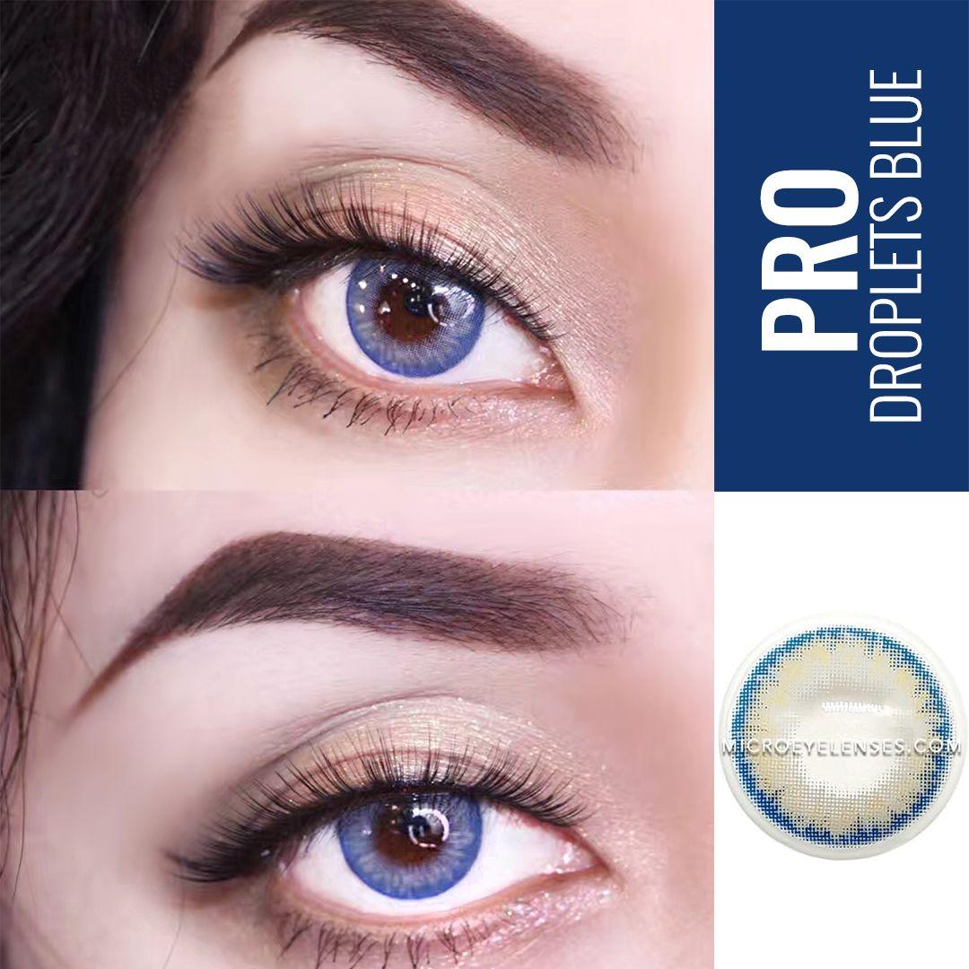 Micro® Eye Circle Lens PRO Droplet Blue Natural Colored