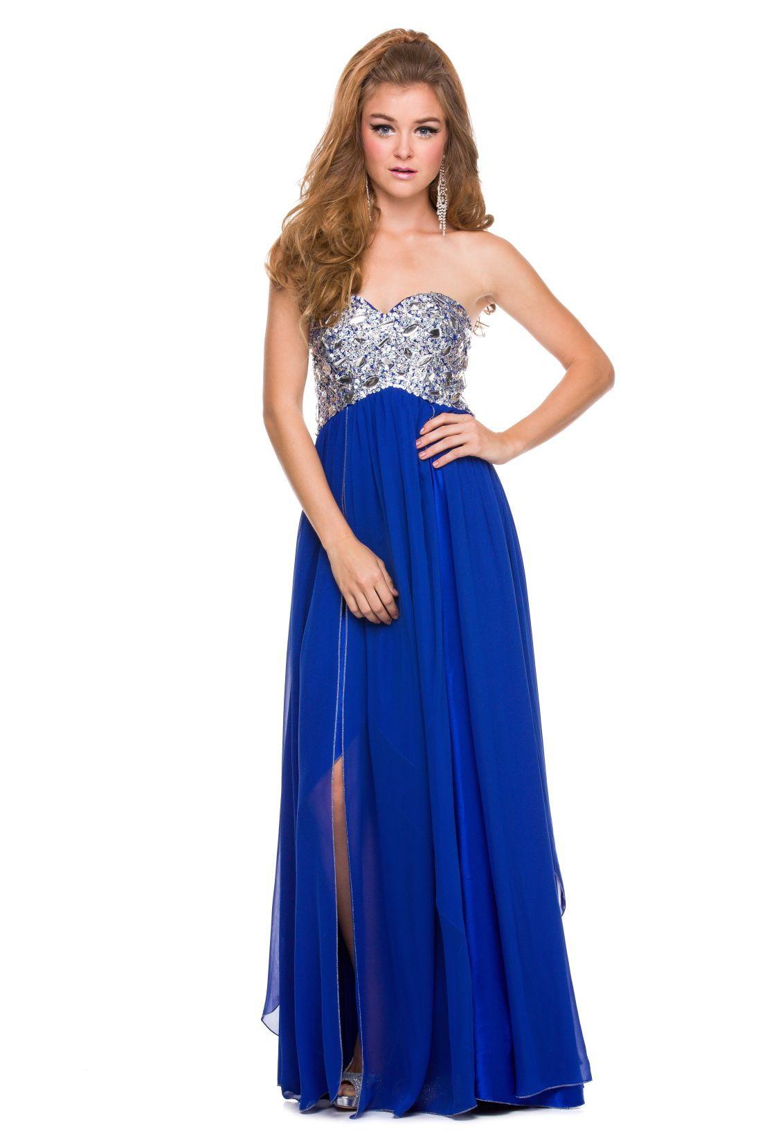 bridesmaid dresses in royal blue silver | Royal Blue Dress ...