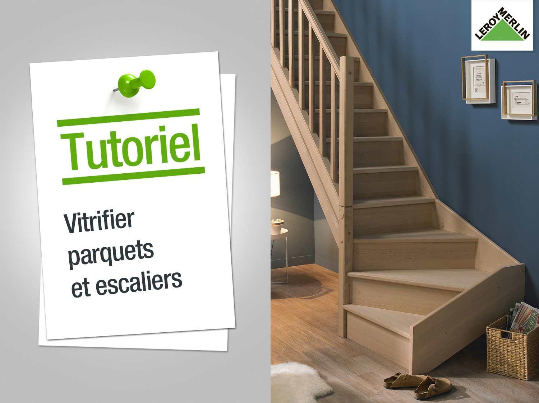 Comment Vitrifier Parquets Et Escaliers Calcul Escalier Escalier Quart Tournant Escalier