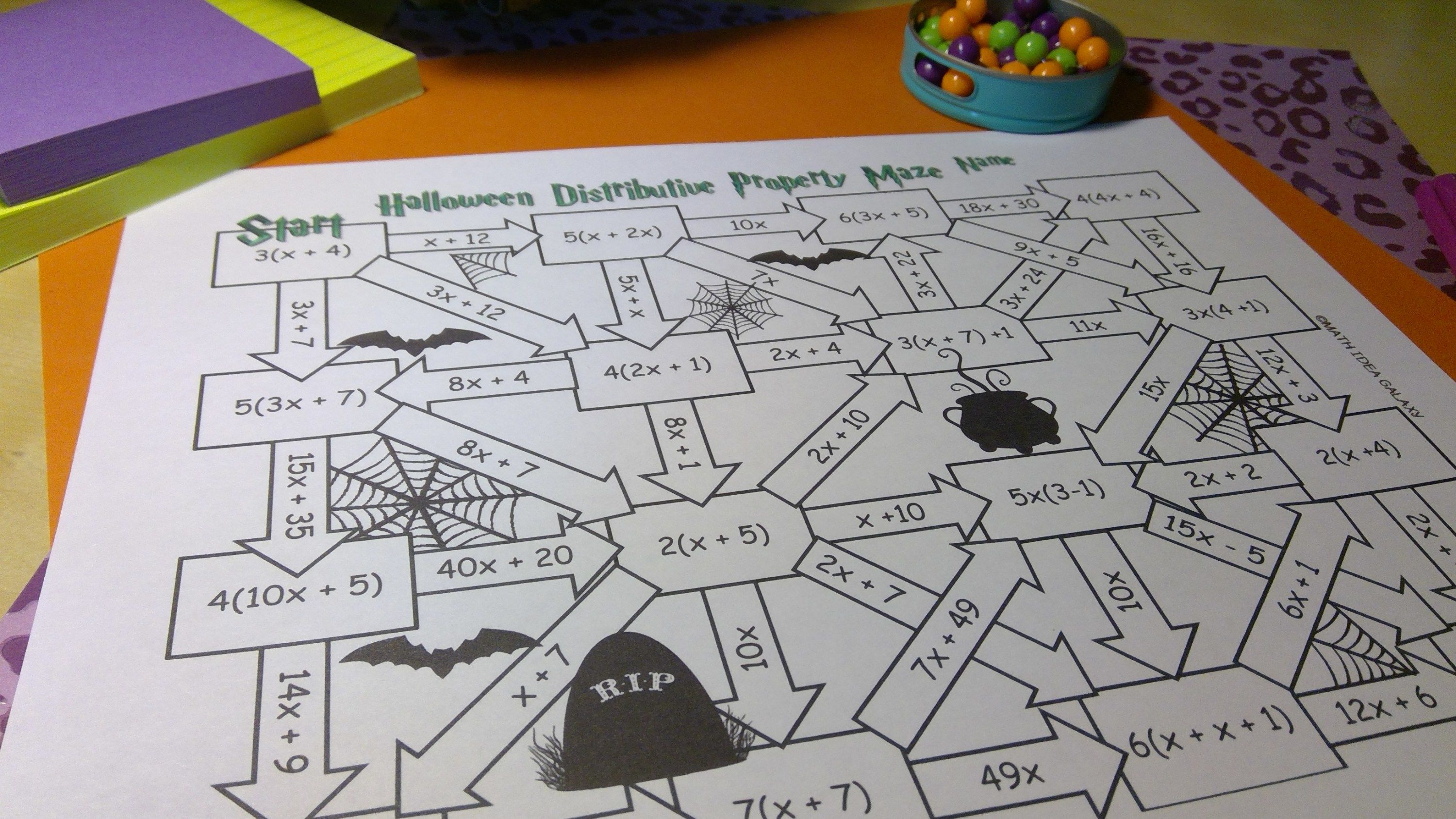 Enjoying Halloween Math Activities In Middle School