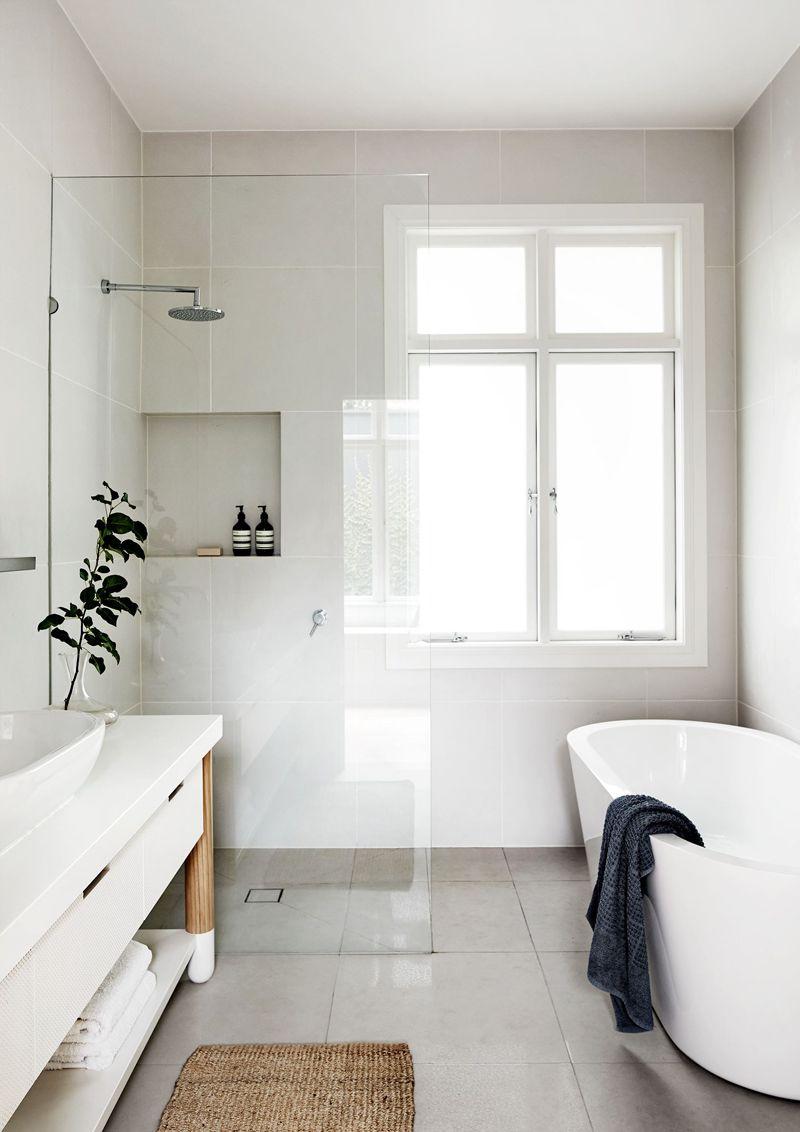 Finestra nella doccia problemi idee soluzioni bagno bathroom small bathroom e bathroom - Finestra nella doccia ...