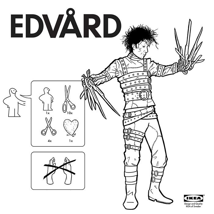 Ikea style instructions for assembling your very own monster by ed ikea style instructions for assembling your very own monster by ed harrington bored panda solutioingenieria Images
