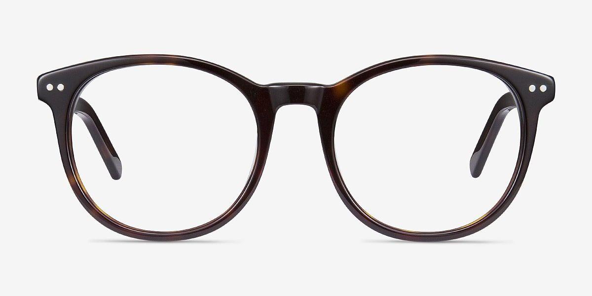 Tortoise Round Prescription EyeglassesMedium FullRim