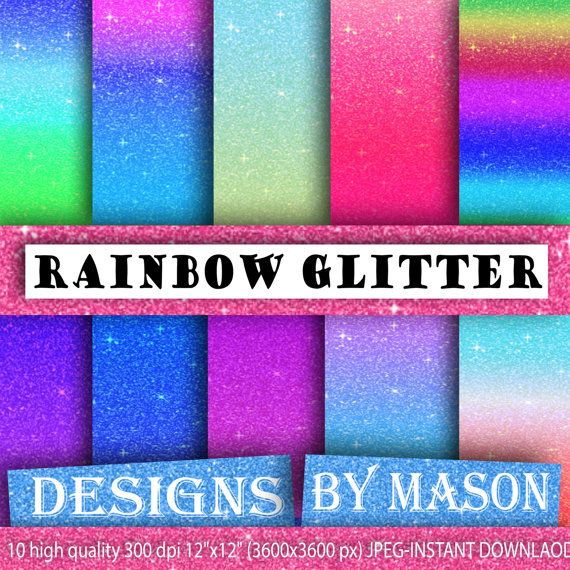 "Glitter Background Paper, Bright Digital Paper, 10 ""GLITTER PAPER POP"" , Glitter Paper, Digital Paper, Printable Paper, Bomb pop, color"