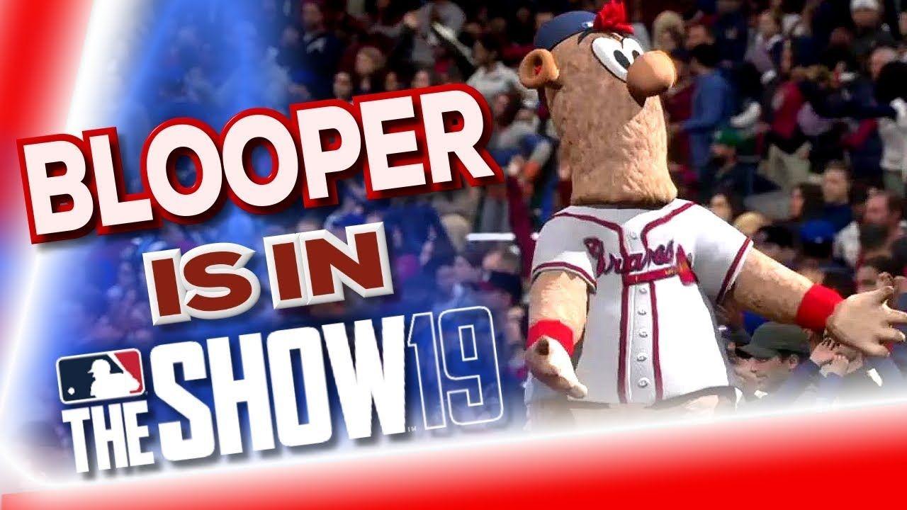 Atlanta Braves Mascot Blooper Makes Debut In Mlb The Show 19 Atlanta Braves Mlb The Show Braves